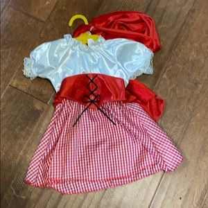 NWOT Little Red Riding Hood Costume 12-18 months